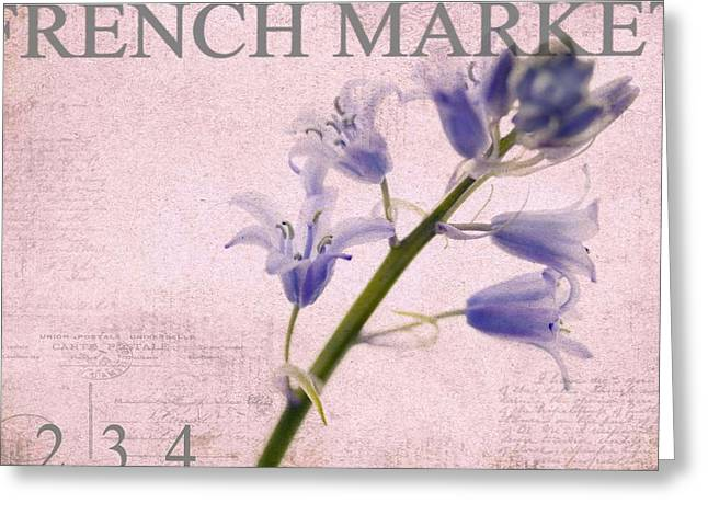 Market Photographs Greeting Cards - French Market Series A Greeting Card by Rebecca Cozart