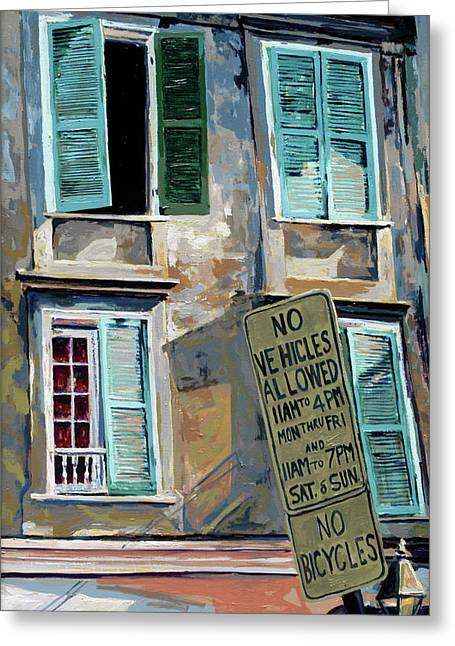 New Greeting Cards - French Quarter Greeting Card by Craig Morris