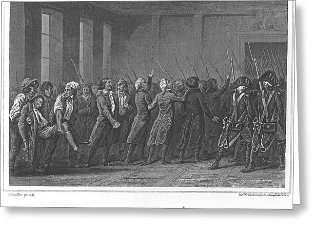 Girondin Greeting Cards - French Revolution, 1793 Greeting Card by Granger