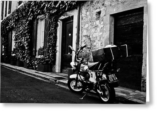 South West France Greeting Cards - French Street Greeting Card by Nomad Art And  Design