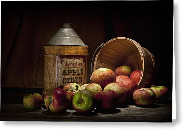 Fresh From The Orchard II Greeting Card by Tom Mc Nemar