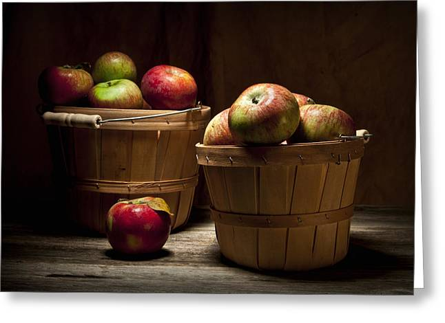 Peck Greeting Cards - Fresh From the Orchard III Greeting Card by Tom Mc Nemar