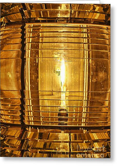 Fresnel Greeting Cards - Fresnel Lens Greeting Card by John Greim