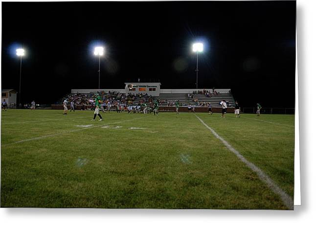 Light Tackle Greeting Cards - Friday Night Lights Greeting Card by Thomas Woolworth
