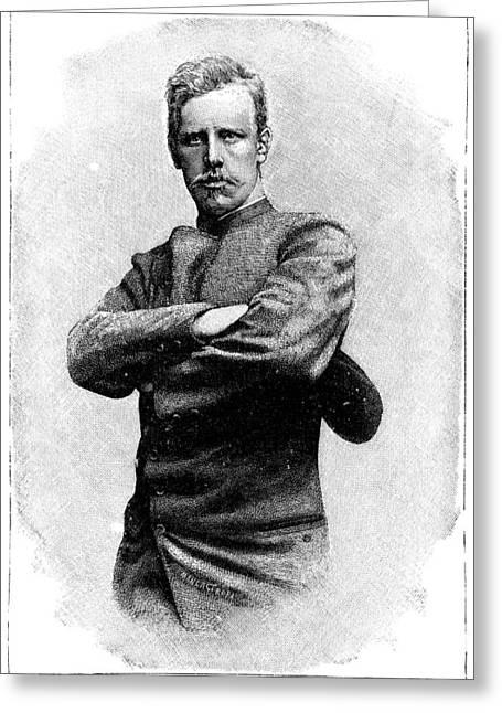 Nansen Greeting Cards - Fridtjof Nansen, Norwegian Explorer Greeting Card by