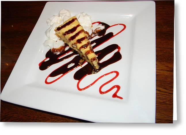 Fried Cheesecake Desert Greeting Card by Warren Thompson