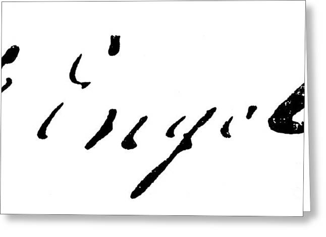 Engels Greeting Cards - Friedrich Engels Greeting Card by Granger
