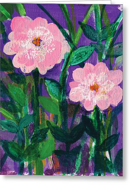 Dream Scape Greeting Cards - Friendship in Flowers Greeting Card by Ashleigh Dyan Bayer