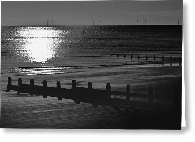 Frinton-On-Sea Greeting Card by Darren Burroughs