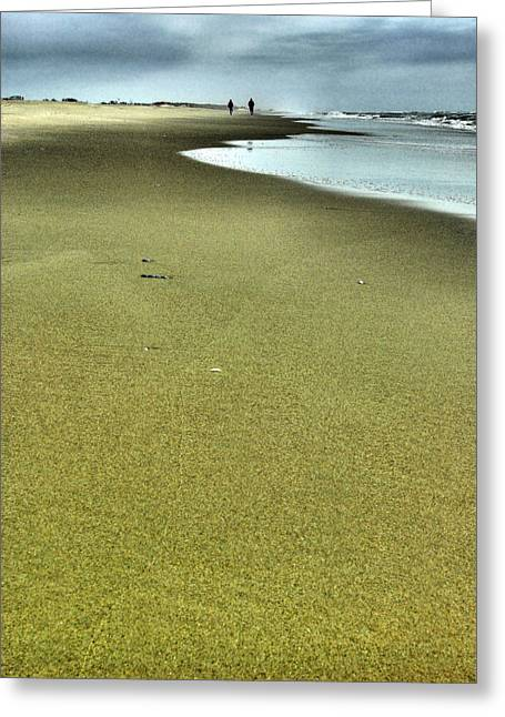 Ocean Photography Greeting Cards - From A Distance Greeting Card by Steven Ainsworth