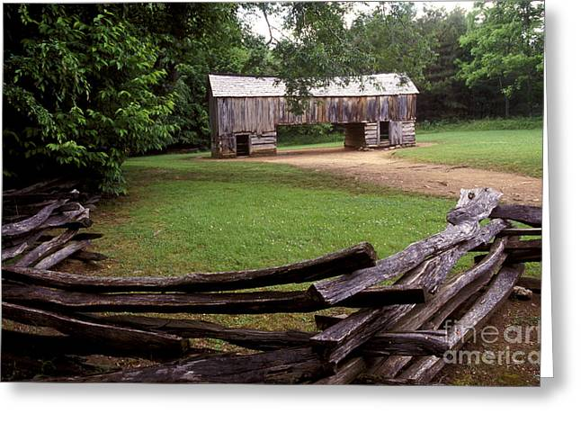 Tn Barn Greeting Cards - From Days Gone By Greeting Card by Paul W Faust -  Impressions of Light