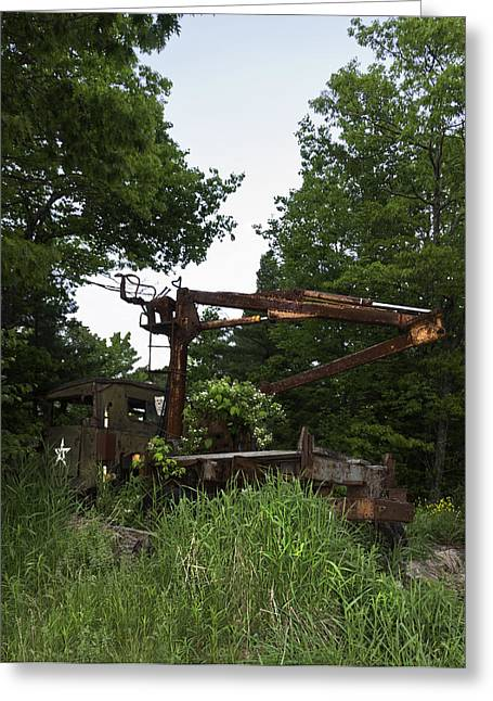 Farm Stand Greeting Cards - From Swords to Plow Shares Greeting Card by Daniel Hebard