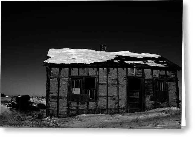 Rural Decay Greeting Cards - Frost Top Greeting Card by Jerry Cordeiro
