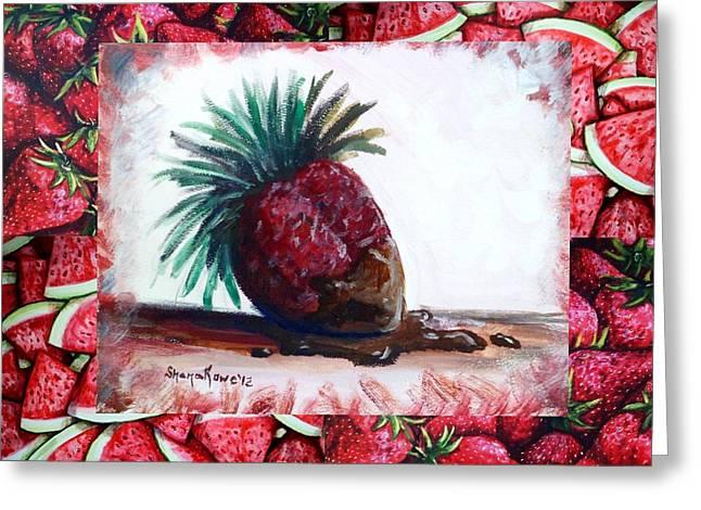 Fruit Fusion Greeting Card by Shana Rowe Jackson