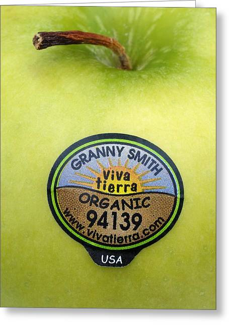 Granny Greeting Cards - Fruit Label Greeting Card by Kaj R. Svensson