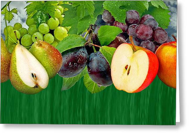 Fruits Greeting Card by Manfred Lutzius