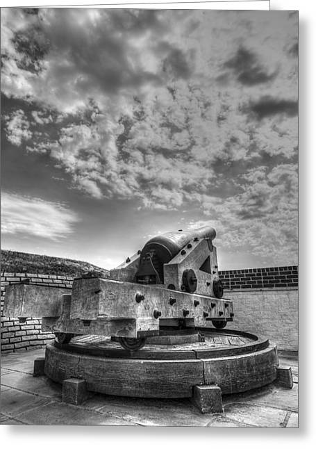 Bastion Greeting Cards - Ft. Moultrie Canon  Greeting Card by Drew Castelhano