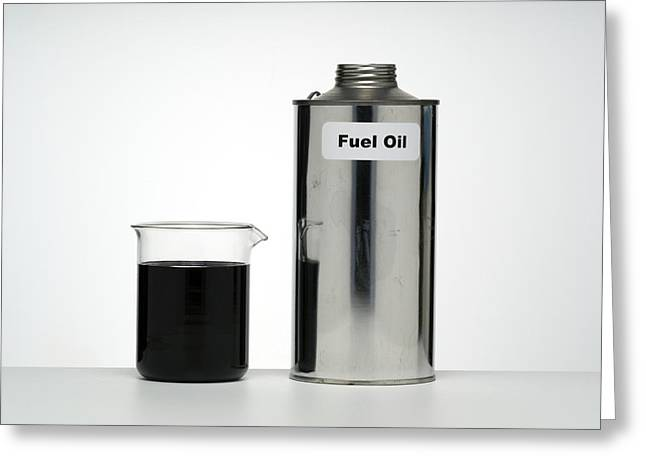 Fossil Fuel Greeting Cards - Fuel Oil Greeting Card by Paul Rapson