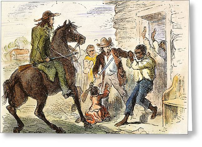 Fugitive Slave Act Greeting Cards - Fugitive Slave Act, 1850 Greeting Card by Granger