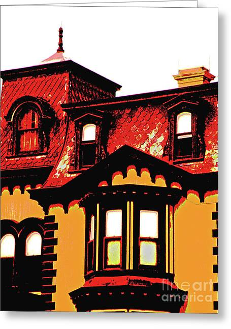 Cupula Greeting Cards - Fulton Mansion Greeting Card by Joe Jake Pratt