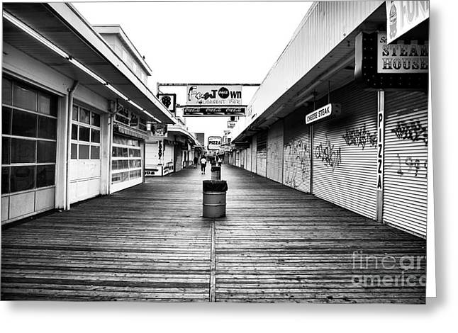 Seaside Heights Greeting Cards - Fun to Win Greeting Card by John Rizzuto