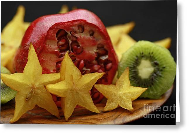 Shelley Myke Greeting Cards - Fun with Fruit Greeting Card by Inspired Nature Photography By Shelley Myke
