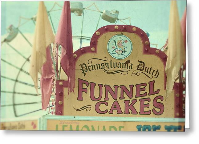 Carnival Ride Greeting Cards - Funnel cakes Greeting Card by Sylvia Cook