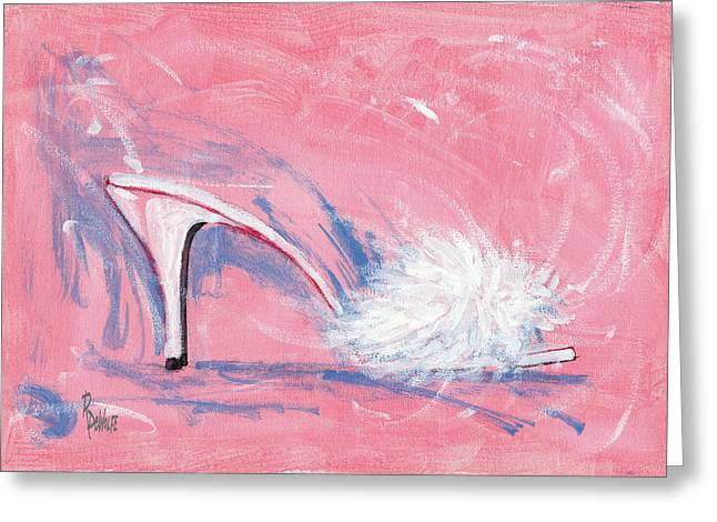 Shoe Greeting Cards - Fuzzy Comfort Greeting Card by Richard De Wolfe