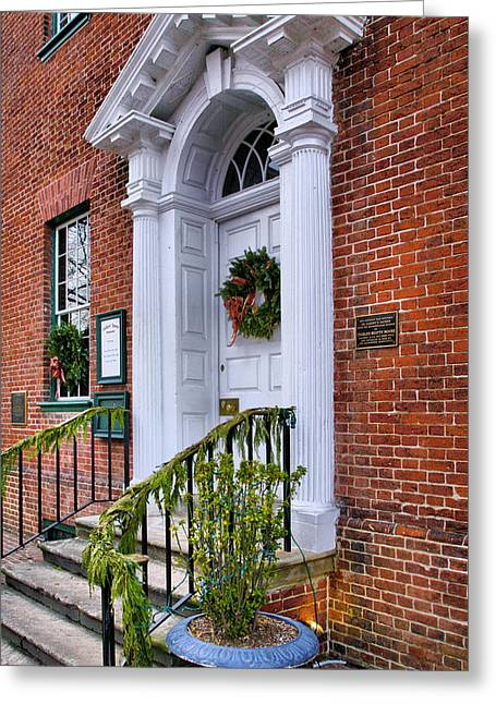 Old Inns Photographs Greeting Cards - Gadsby Tavern I Greeting Card by Steven Ainsworth