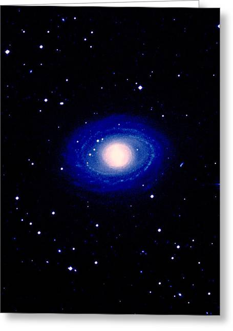 Galaxy Ngc 1398 Greeting Card by Celestial Image Co.