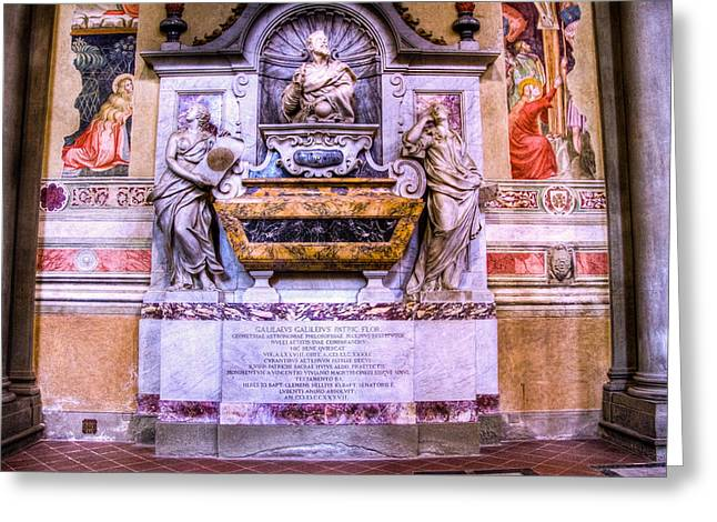 Galileo Greeting Cards - Galileo Resting Place Greeting Card by Jon Berghoff
