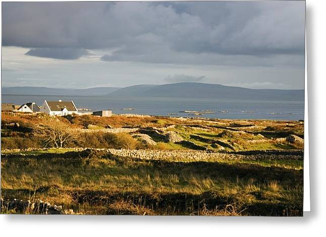 Co Galway Greeting Cards - Galway Bay, Co Galway, Ireland Bay Near Greeting Card by The Irish Image Collection