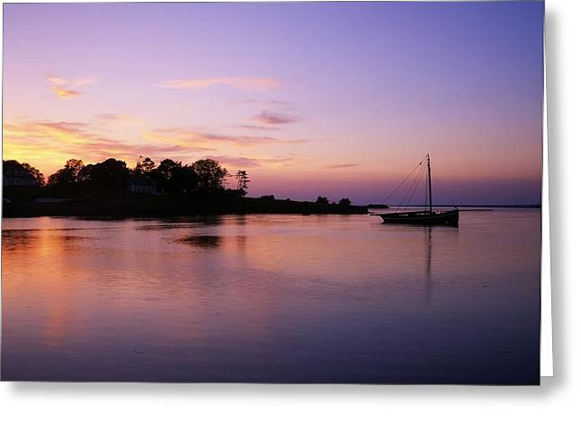 Galway Bay Greeting Cards - Galway Bay, Co Galway, Ireland Sunset Greeting Card by The Irish Image Collection
