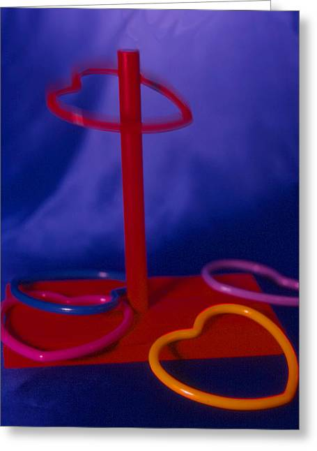 Love Game Greeting Cards - Game Of Love Greeting Card by Jerry Taliaferro