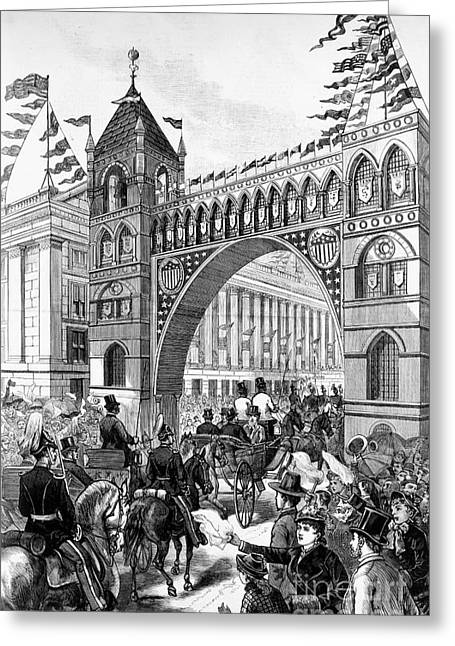 Inauguration Greeting Cards - Garfield Inauguration, 1881 Greeting Card by Granger