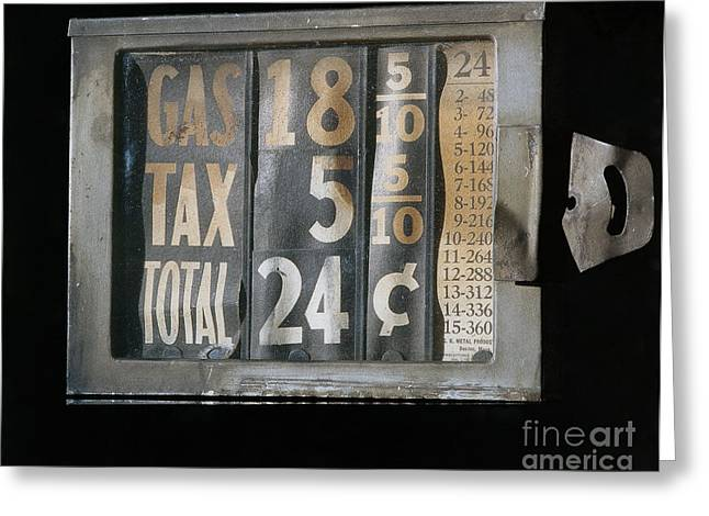 Gas Meter Greeting Cards - Gas Meter Greeting Card by Photo Researchers
