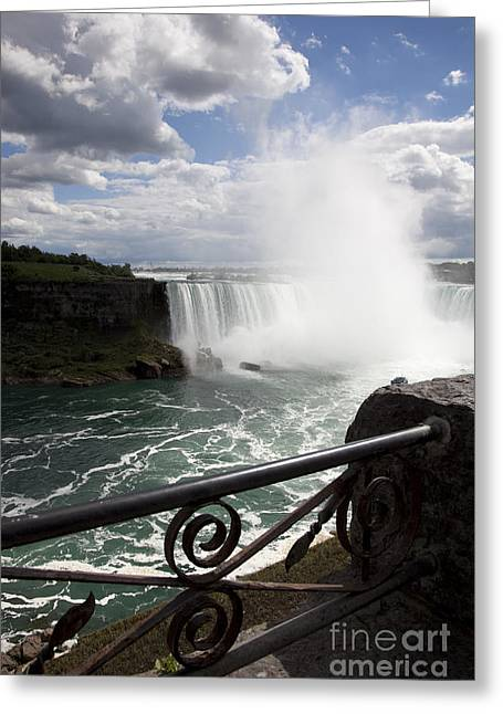 Gateway To Beauty Greeting Card by Amanda Barcon