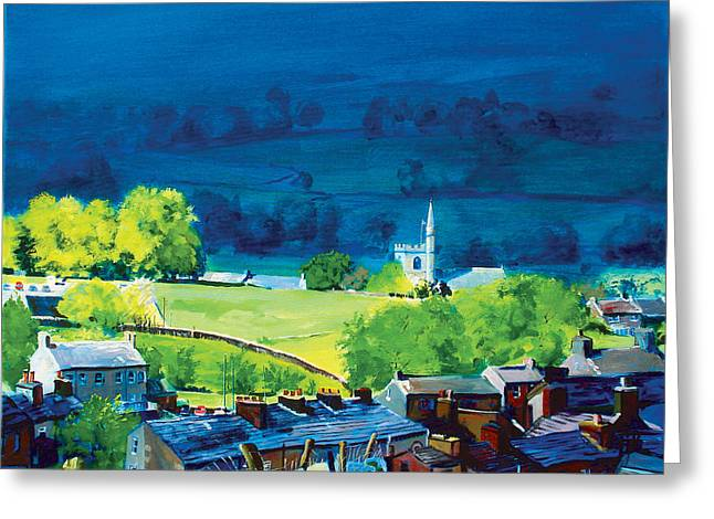 Fields Greeting Cards - Gayle and Hawes Greeting Card by Neil McBride