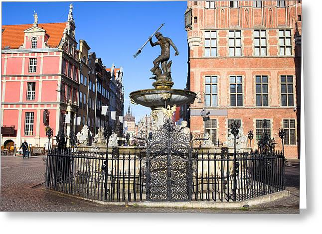 Recently Sold -  - Polish Culture Greeting Cards - Gdansk Old City in Poland Greeting Card by Artur Bogacki