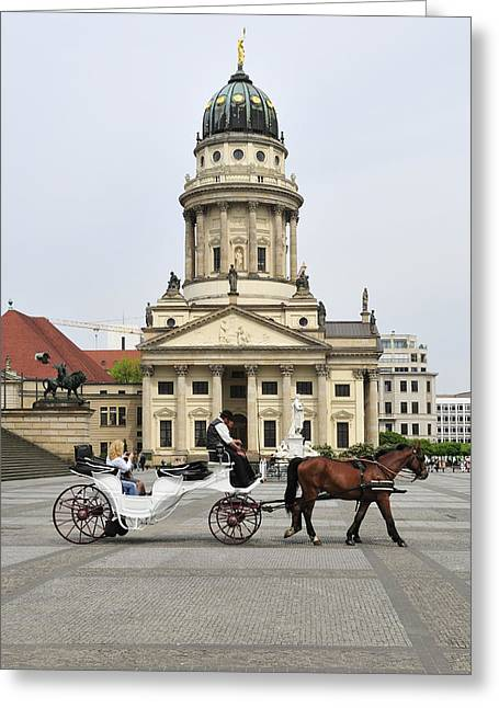 Gendarmenmarkt Berlin Germany Greeting Card by Matthias Hauser