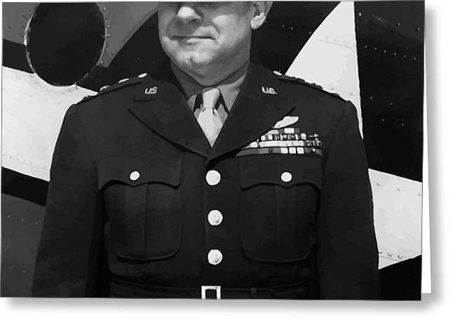 General Jimmy Doolittle Greeting Card by War Is Hell Store