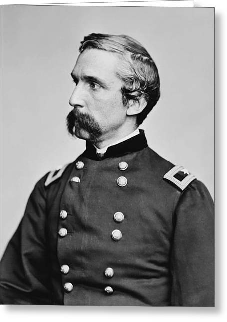 Maine Greeting Cards - General Joshua Chamberlain  Greeting Card by War Is Hell Store