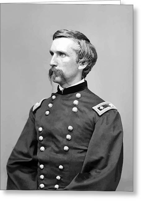 Maine Greeting Cards - General Joshua Lawrence Chamberlain Greeting Card by War Is Hell Store