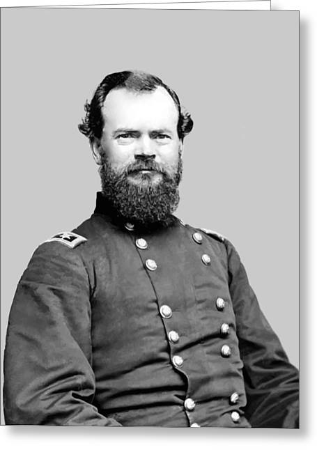 The North Greeting Cards - General McPherson Greeting Card by War Is Hell Store