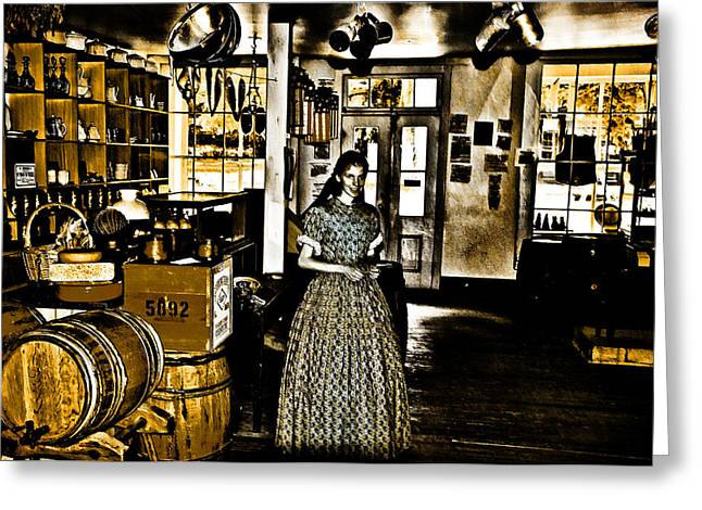 General Store Harpers Ferry Greeting Card by Bill Cannon