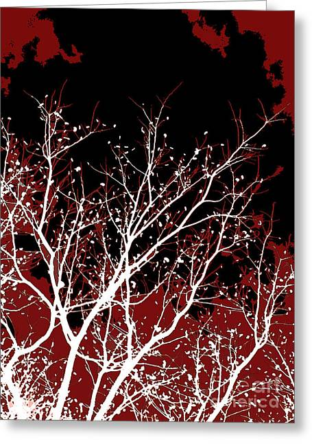 Tendrils Greeting Cards - Genesis Greeting Card by Glennis Siverson