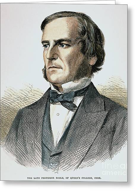 Sideburns Photographs Greeting Cards - George Boole (1815-1864) Greeting Card by Granger