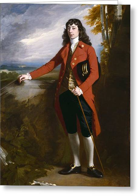 Loyalist Greeting Cards - George Boone Roupell Greeting Card by John Singleton Copley