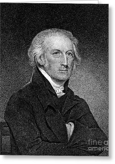 18th Century Greeting Cards - George Clymer (1739-1813) Greeting Card by Granger