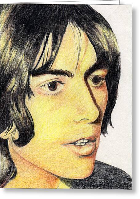 George Harrison Greeting Card by Jayne Kennedy